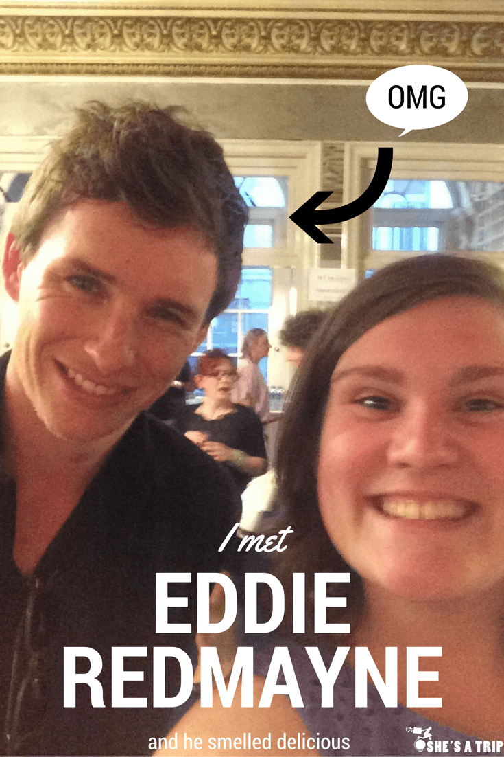 how to meet eddie redmayne