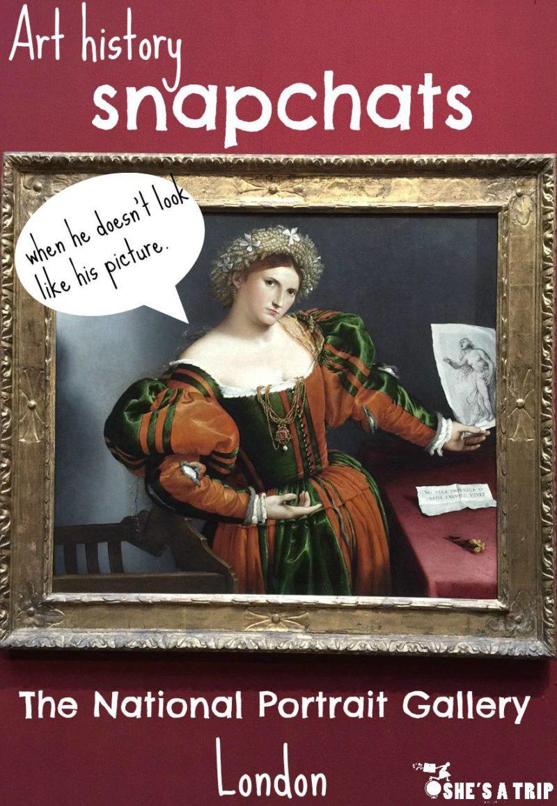 Art History Snapchats