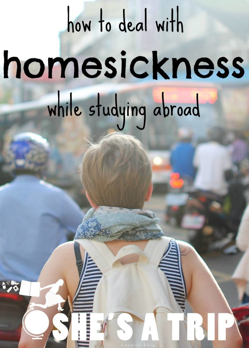 study abroad homesickness tips