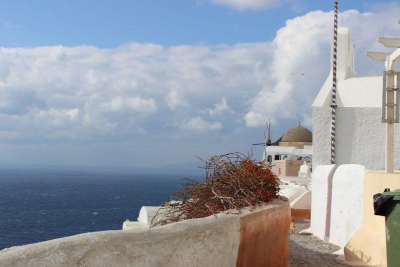 Santorini Greece View