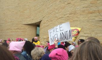 women's march melania